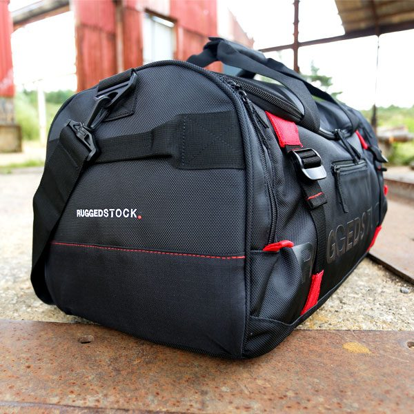40d17047e3a8 RUGGEDSTOCK Sports Bag Left Pocket