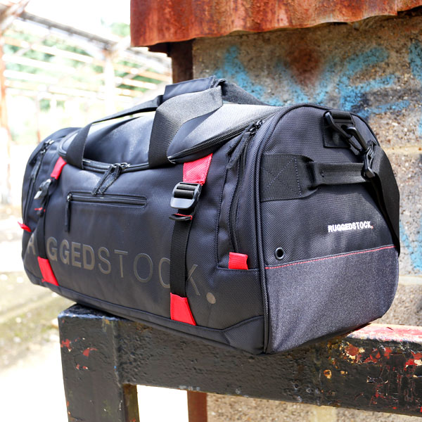 dc49671935cf RUGGEDSTOCK Sports Bag Right Pocket