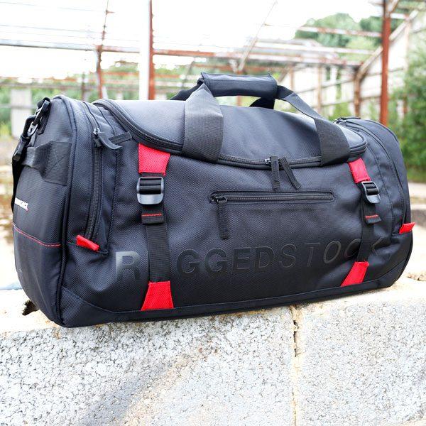 e7701d7f836f RUGGEDSTOCK Sports Bag · RUGGEDSTOCK Sports Bag Left Pocket